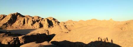 De woestijn van Egypte Royalty-vrije Stock Foto