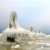 De woestijn van het ijs Stock Afbeeldingen