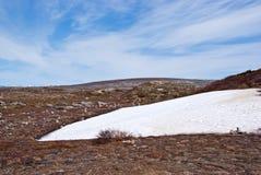 De Woestijn van het noorden. Noorwegen Stock Afbeeldingen