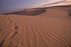 De woestijn van het zand Stock Afbeelding