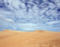 De woestijn van het zand stock foto's