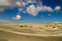 De woestijn van het zand stock fotografie