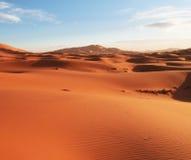 De woestijn van het zand Stock Afbeeldingen