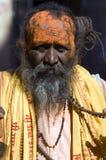 De woestijn van India, Rajasthan, Thar: Kleurrijke persoon Royalty-vrije Stock Fotografie