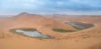 De Woestijn van Jaran van Badain royalty-vrije stock fotografie