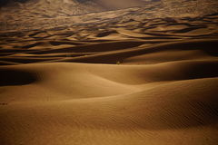 De Woestijn van Jaran van Badain royalty-vrije stock afbeelding