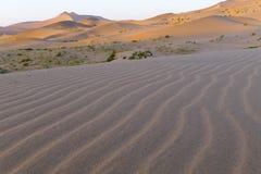 De Woestijn van Jaran van Badain Stock Afbeelding