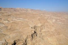 De Woestijn van Judea Stock Afbeelding