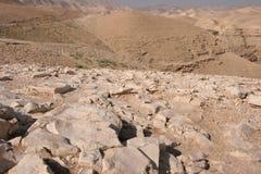 De Woestijn van Judea Royalty-vrije Stock Fotografie