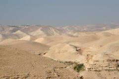 De Woestijn van Judea royalty-vrije stock afbeelding