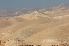 De Woestijn van Judea Royalty-vrije Stock Foto's