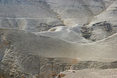 De woestijn van Judea, Israël royalty-vrije stock foto