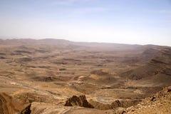 De woestijn van Judean Stock Afbeelding