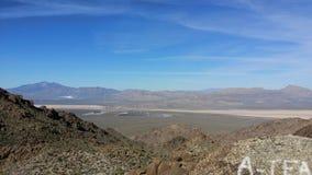 De woestijn van Lasvegas Royalty-vrije Stock Foto