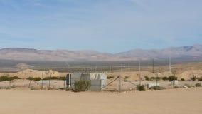 De woestijn van Lasvegas Stock Foto's