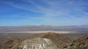 De woestijn van Lasvegas Stock Afbeeldingen