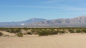 De woestijn van Lasvegas Royalty-vrije Stock Foto's