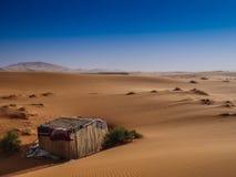 De woestijn van Marokko de Sahara stock foto