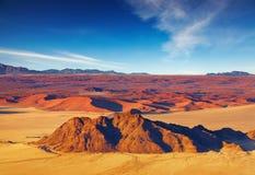 De Woestijn van Namib, luchtmening Royalty-vrije Stock Foto's