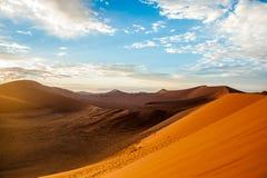 De Woestijn van Namibië, Afrika Royalty-vrije Stock Fotografie