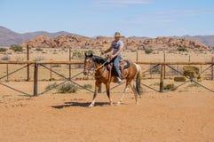 De Woestijn van Namibië - Namib- Stock Afbeeldingen