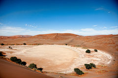 De Woestijn van Namibië, Sussusvlei, Afrika Royalty-vrije Stock Afbeelding