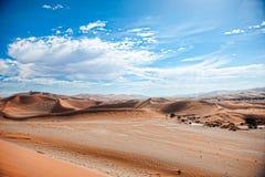 De Woestijn van Namibië, Sussusvlei, Afrika Stock Foto