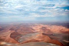 De Woestijn van Namibië, Sussusvlei, Afrika Stock Foto's