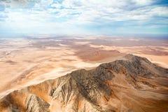 De Woestijn van Namibië, Sussusvlei, Afrika Stock Afbeelding