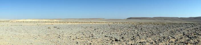 De Woestijn van Negev Royalty-vrije Stock Afbeeldingen