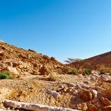 De Woestijn van Negev royalty-vrije stock afbeelding