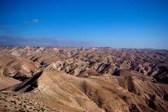 De Woestijn van Negev in Israël Stock Fotografie