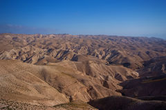 De Woestijn van Negev in Israël Royalty-vrije Stock Afbeeldingen