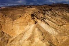 De Woestijn van Negev, Israël Royalty-vrije Stock Foto's