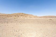De Woestijn van Negev in Isra?l stock afbeelding