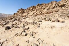 De Woestijn van Negev in Isra?l royalty-vrije stock foto's