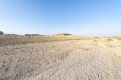 De Woestijn van Negev in Isra?l royalty-vrije stock fotografie