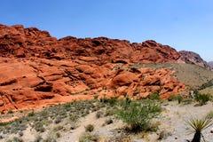 De woestijn van Nevada toneel Royalty-vrije Stock Foto's