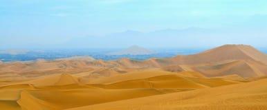De woestijn van Peru Stock Afbeelding