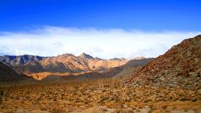 De woestijn van Rumorosa Royalty-vrije Stock Foto