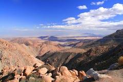 De woestijn van Rumorosa Stock Afbeelding