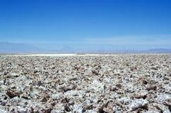De woestijn van Salar de Atacama - Atacama-, Chili stock afbeelding