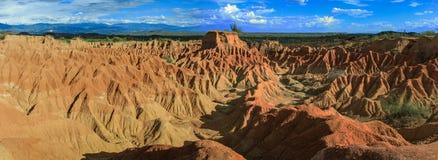 De Woestijn van Tatacoa, Colombia royalty-vrije stock afbeelding