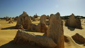 De woestijn van Toppen stock footage