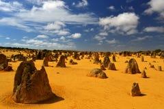 De Woestijn van toppen, Australië Stock Foto