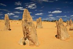 De Woestijn van toppen, Westelijk Australië Stock Afbeeldingen