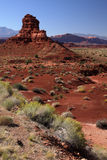 De woestijn van Utah Stock Foto's