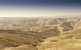 De woestijn van Yehuda royalty-vrije stock fotografie