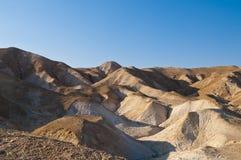 De woestijn van Yehuda stock afbeelding