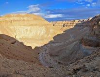 De Woestijn van Yehuda, Israël Stock Afbeelding